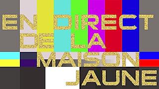 site web traditionnel en direct de la maison jaune
